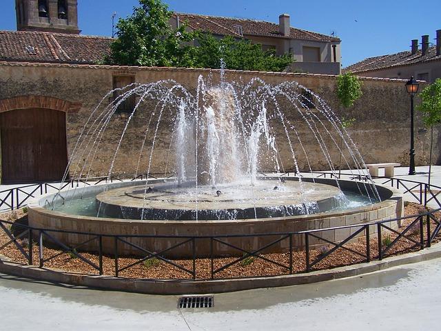 Free source park ornamental plaza spain tourism