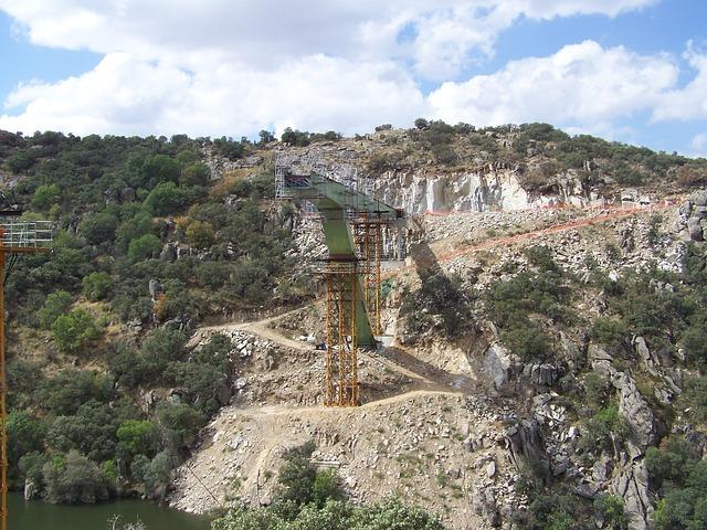 Free bridge work construction river engineering