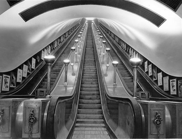 Free london england united kingdom escalator