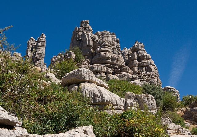 Free spain andalusia landscape mountains outcrops