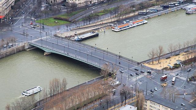 Free paris seine bridge