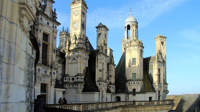 Free chambord towers france