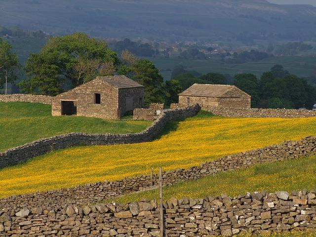 Free yorkshire england united kingdom farm fields