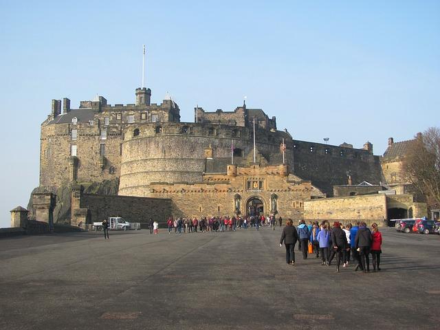 Free edinburgh scotland castle structure historical