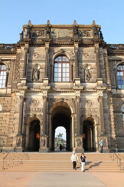 Free dresden germany zwinger palace building landmark