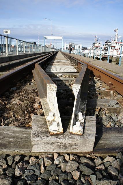 Free track rails steel bridge tracks