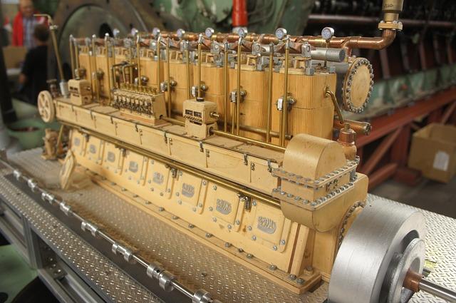 Free motor machine technique ship diesel