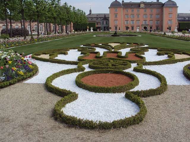 Free schwetzingen closed garden schlossgarten