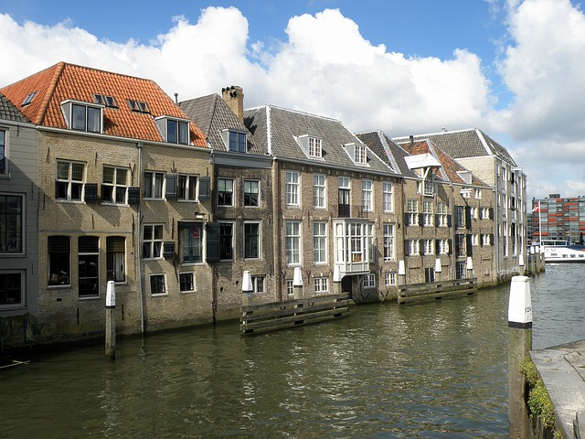 Free dordrecht netherlands city urban buildings