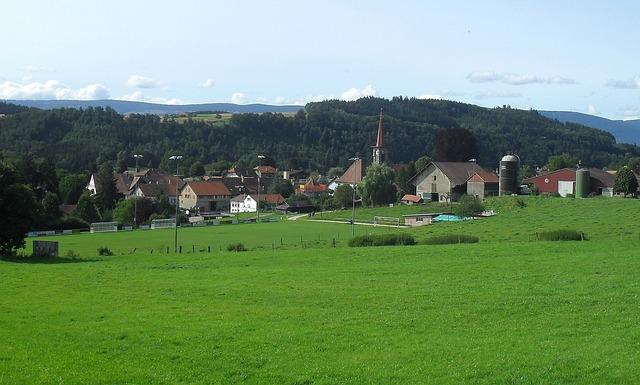 Free switzerland donneloye landscape scenic sky clouds