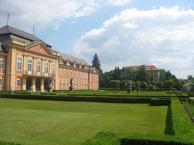 Free Photos: Dobris czech republic landscape palace building | David Mark
