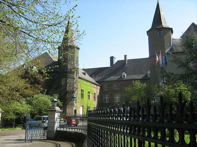 Free differdange luxembourg castle historical landmark