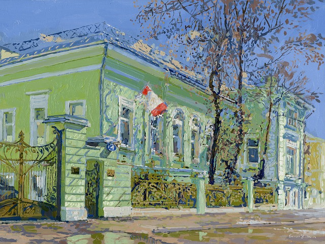 Free simon begichev moscow russia house home mansion