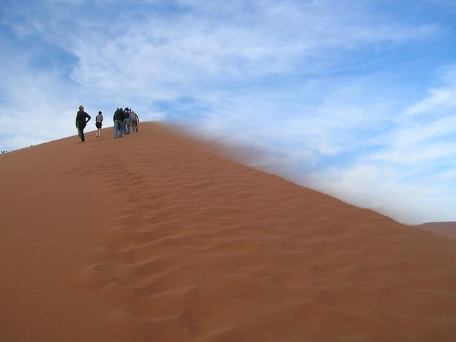 Free sand dune sand dune namibia desert africa