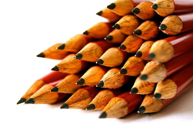 Free                school pen great pointed leave pencil wood