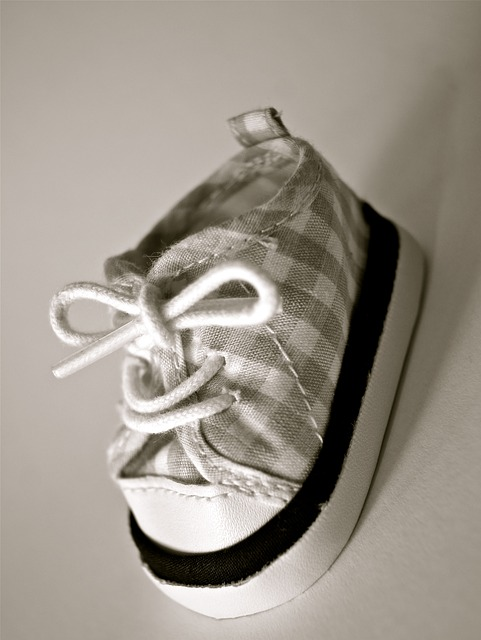 Free shoe baby child clothing small black white cute