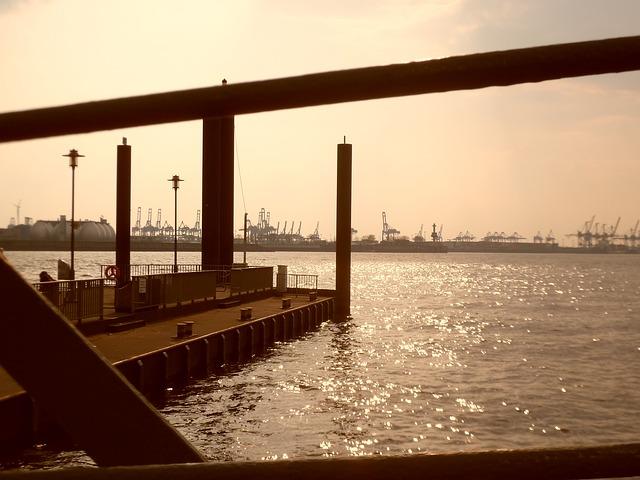 Free hamburg port beautiful spring sun sunshine summer
