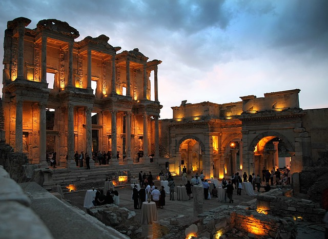Free turkey sky clouds celsus library ephesus dinner