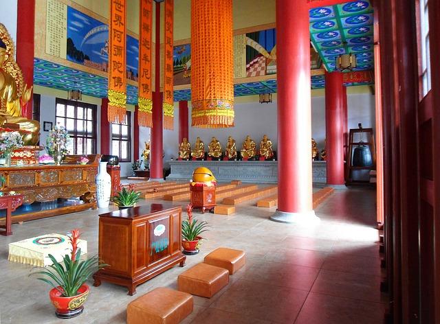Free buddhist buddhism religion faith temple inside