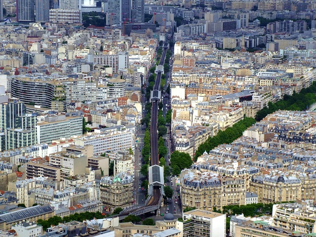 Free paris france city urban buildings structure trees