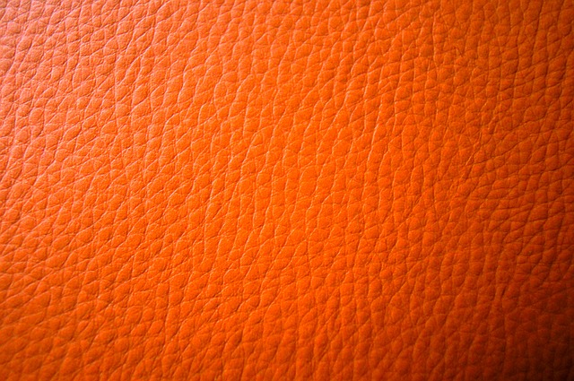 Free Photos: Leather orange background reference embossing | weinstock