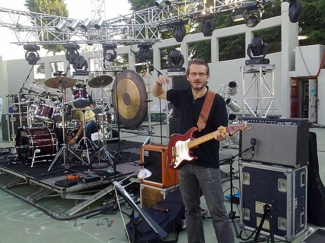 Free sound chek guitar player guitar studio music
