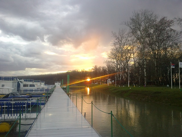 Free sun sunset clouds