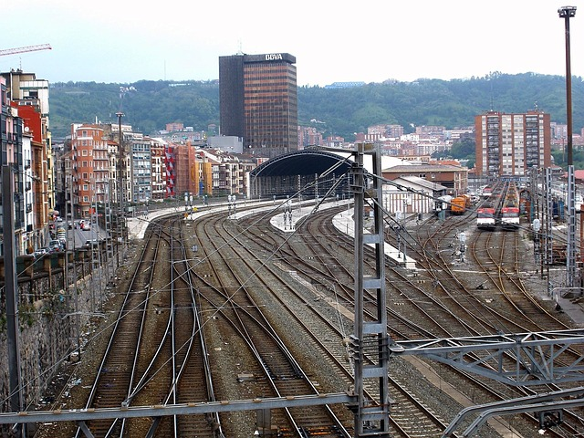 Free bilbao spain railroad railway mass transit