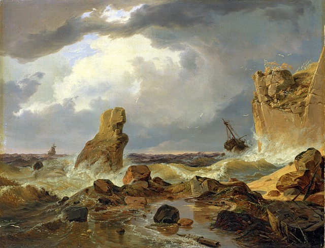 Free andreas achenbach painting art artistic artistry