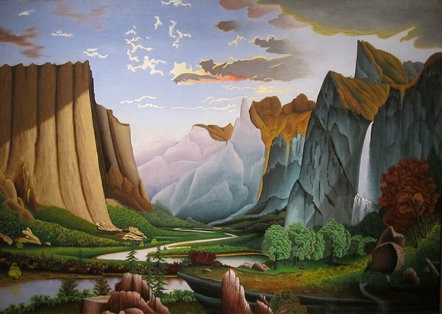 Free la roberts painting art artistic artistry