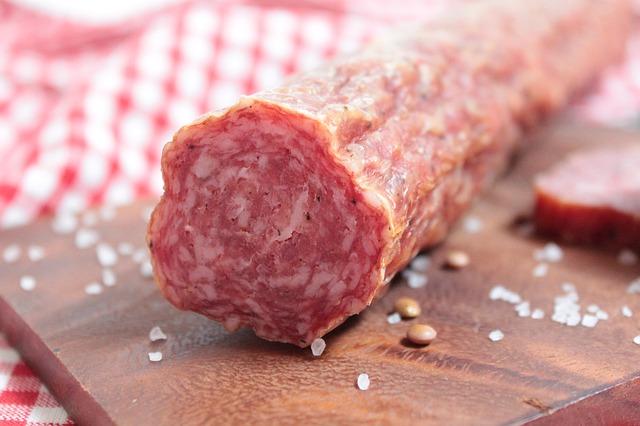Free sausage food meat eat