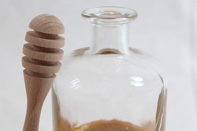 Free honey treat breakfast sweet honey jar