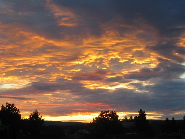 Free sunset clouds evening abendstimmung evening sky