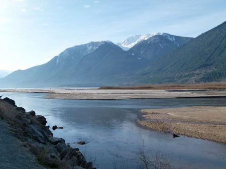 Free Lillooet Lake in Canada