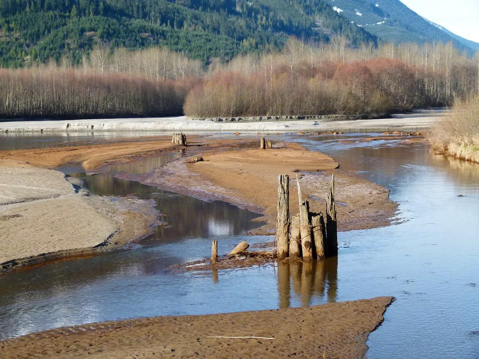 Free Birkenhead River in Canada