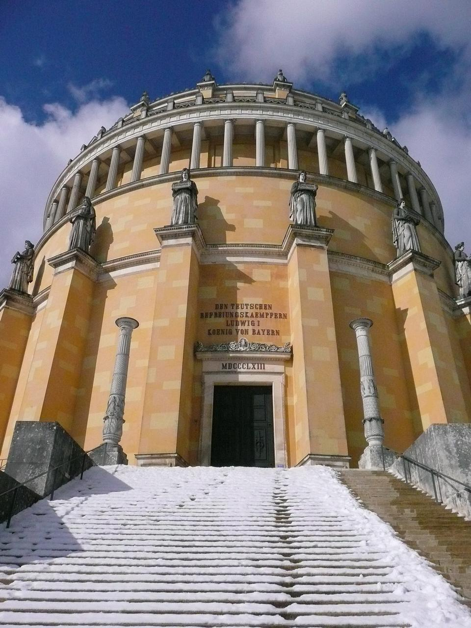 Free Befreiungshalle historical classical monument