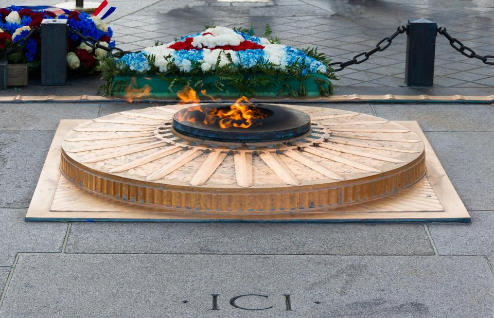 Free The flamme on the Tomb of the Unknown Soldier
