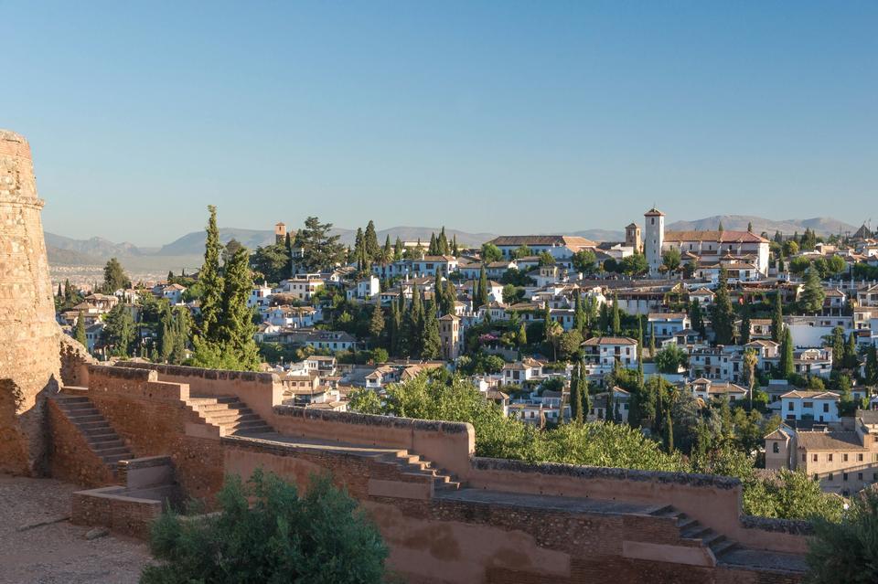 Free Landscape of Granada, Spain