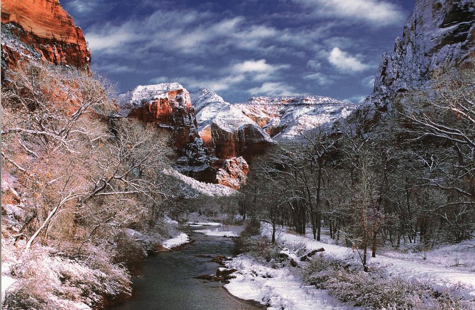 Free Zion National Park is located in the Southwestern