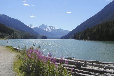 Free Duffey Lake Provincial Park  BC Canada