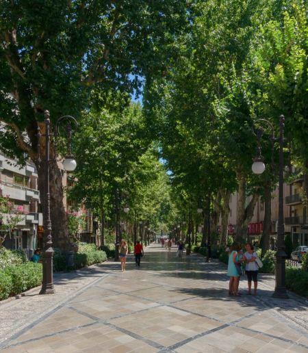 Free downtown Granada, Spain