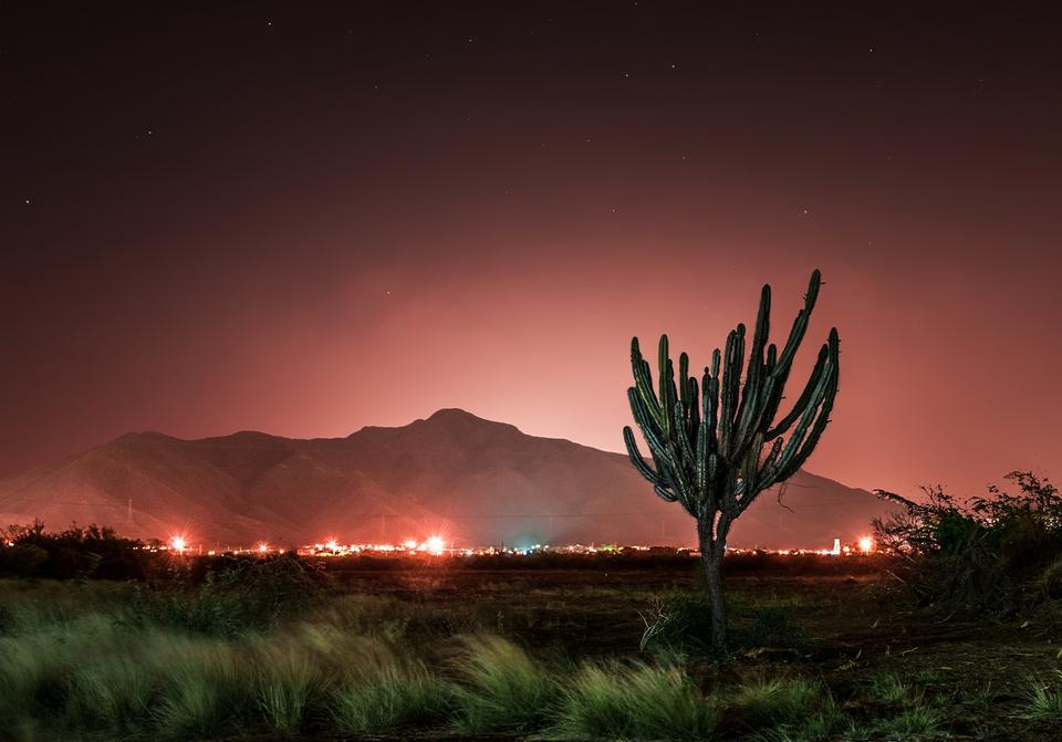 Free San Juan Bautista California in night sky