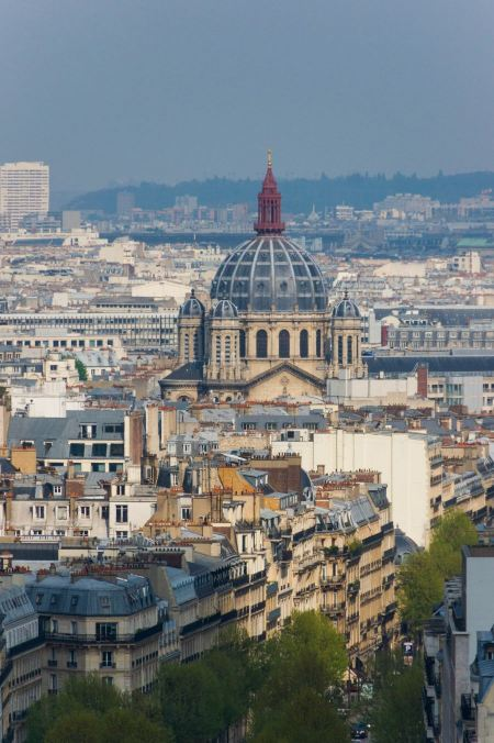 Free Roofs of Paris, dome and pinnacles of church Saint-Augustin