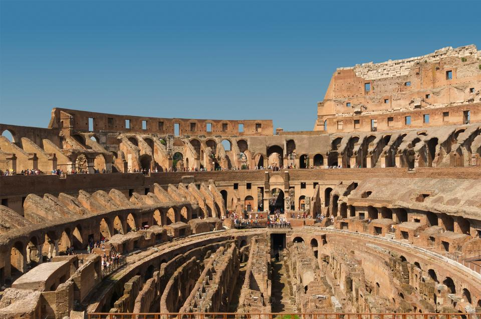 Free Photos: Interior of the Colosseum Rome, Italy | publicdomain