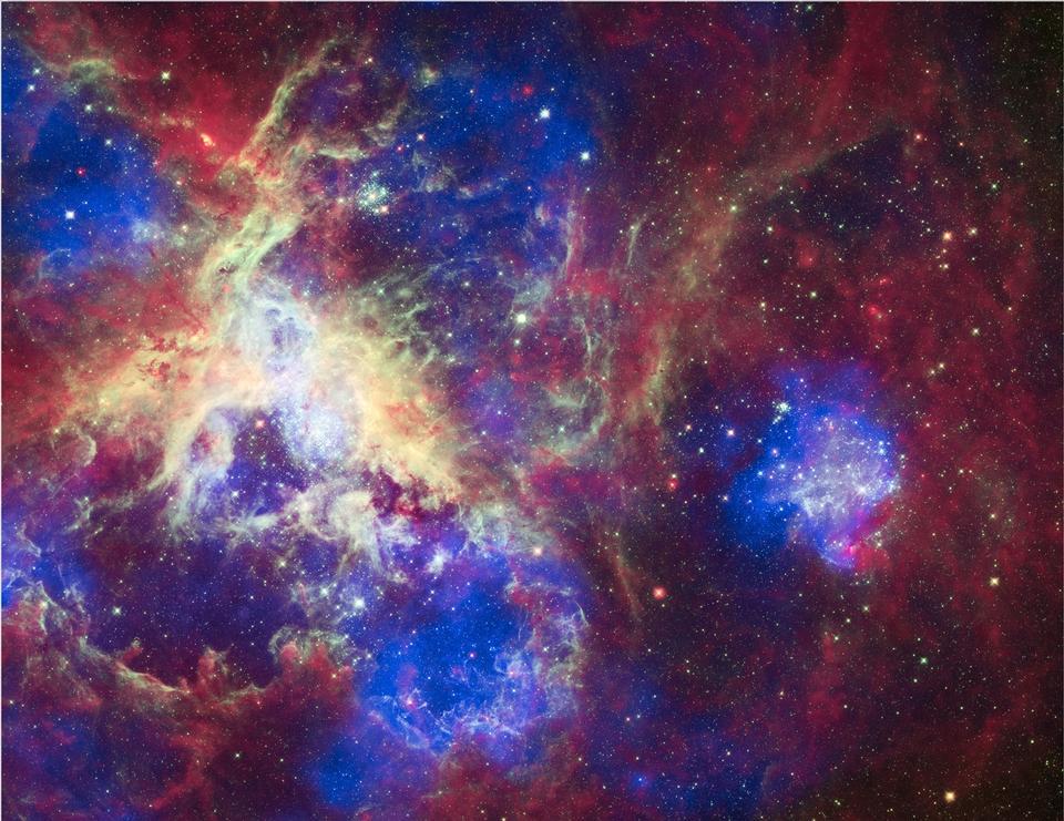 Free Galaxy Tarantula Nebula