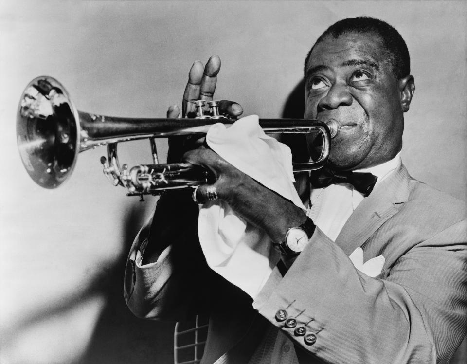Free Louis Armstrong, jazz trumpeter