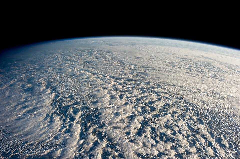 Free Stratocumulus clouds above the northwestern Pacific Ocean