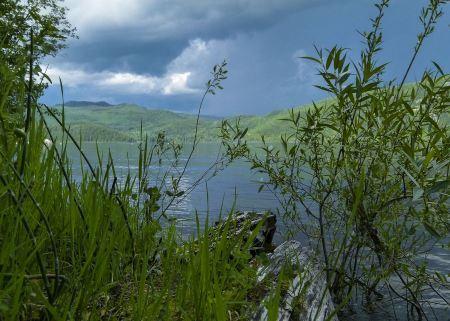 Free Bad weather over Canim Lake British Columbia