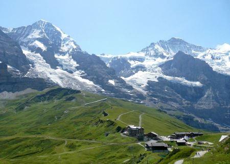Free Wengen Village in Switzerland