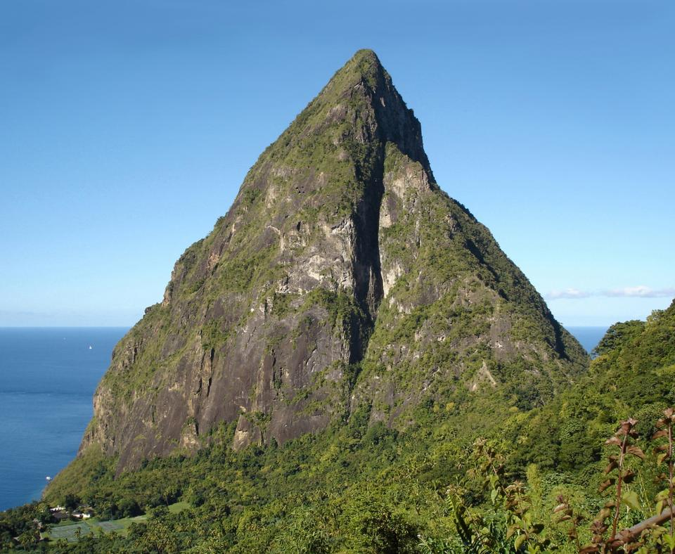 Free Petit Piton, St. Lucia